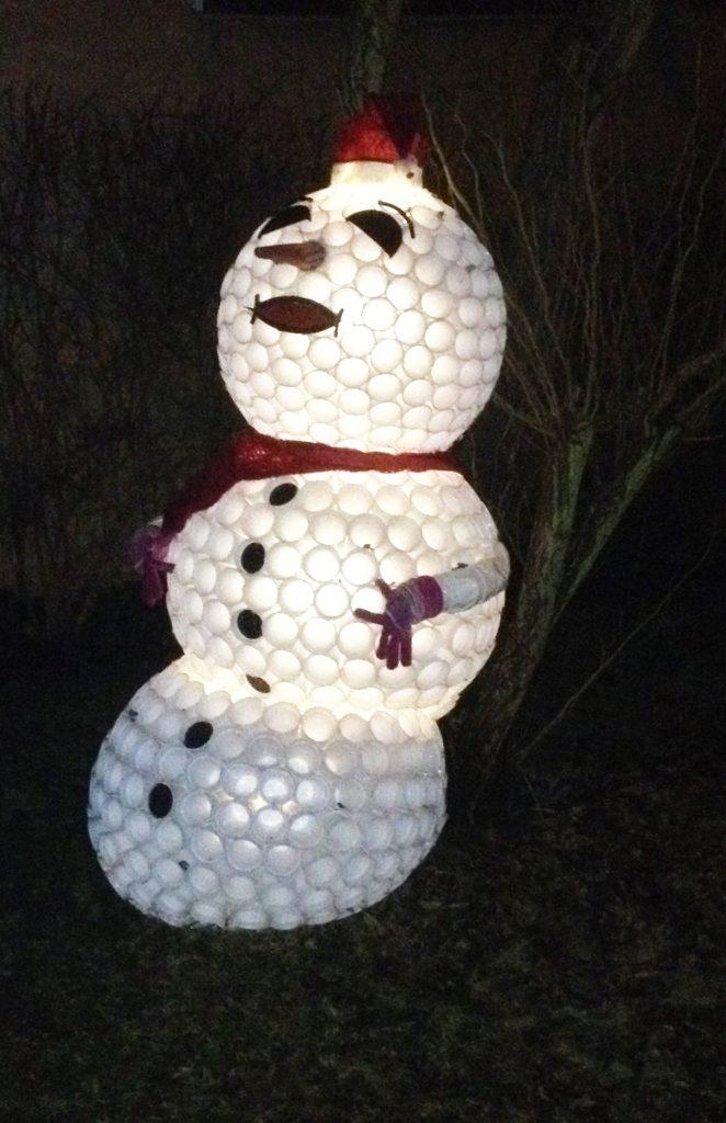 Schneemann für jede Jahreszeit